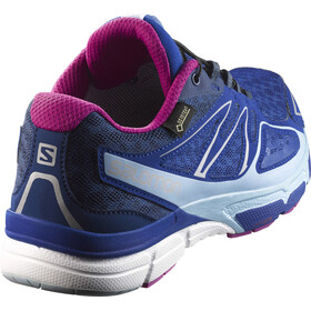 Salomon X-Scream 3D GTX Trailrunning Shoes Women blue yonder/white/deep dalhia